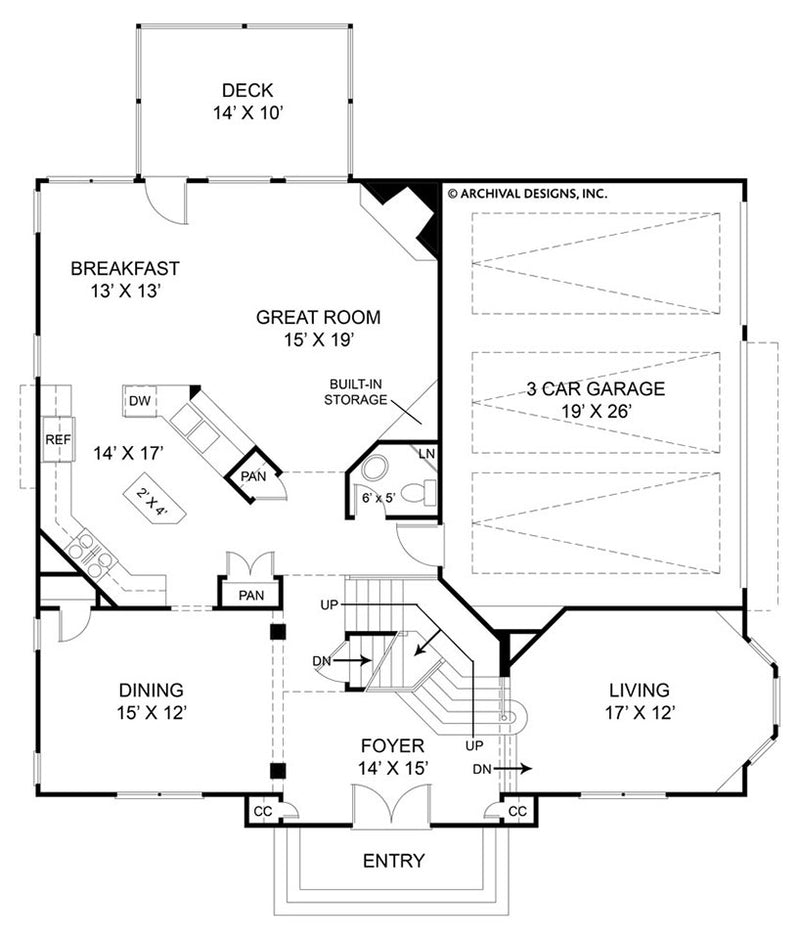 Avenues first floor, floor plan