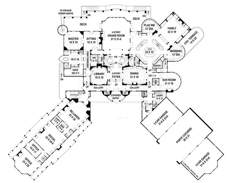 Balmoral first floor, floor plan