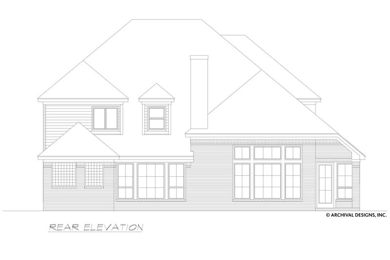 The Bandera Falls House Plan