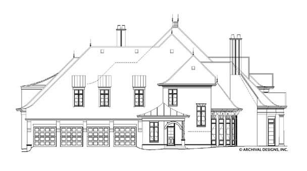 Bellenden Manor House Plan
