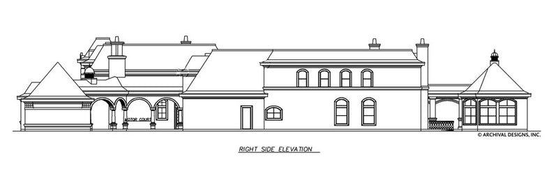 Bellerive House Plan