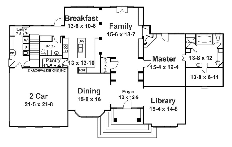 Berenson first floor, floor plan