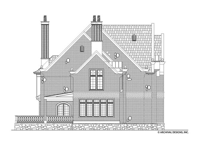Berkeley Estate House Plan