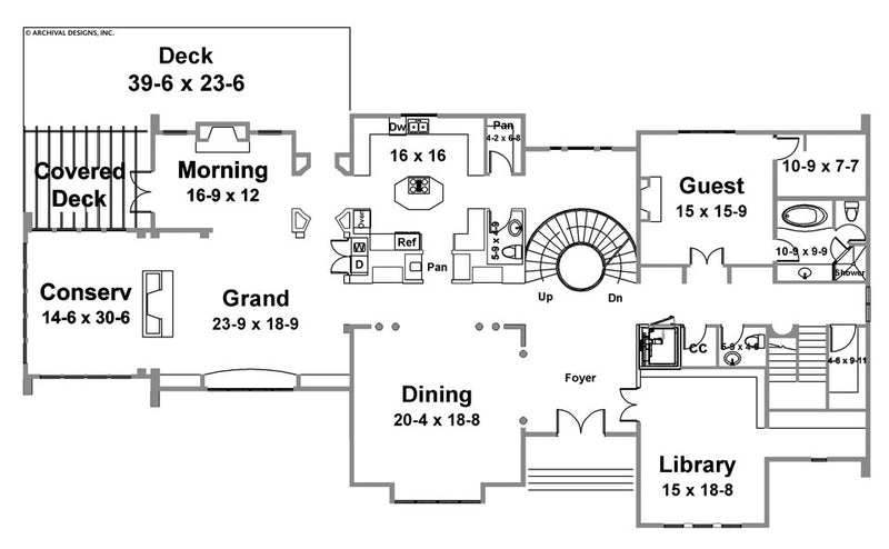 Berkeley Estate first floor, floor plan