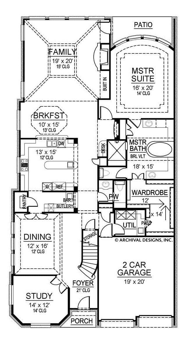 Blackburn-First-Floor_M_800x Pantry With Narrow House Plan on house plans with upstairs living, house plans with 2 master bathrooms, house plans with wall of windows, house plans with widow walk, house plans with split floor plan, house plans with 10 foot ceilings, house plans with secret passage, house plans with 2 living areas, house plans with first floor master, house plans with half bath, house plans with great room, house plans with handicap access, house plans with sunken family room, house plans with computer nook, house plans with computer area, house plans with sunken living room, house plans with front veranda, house plans with corner sink, house plans with 6 rooms, house plans with larder,