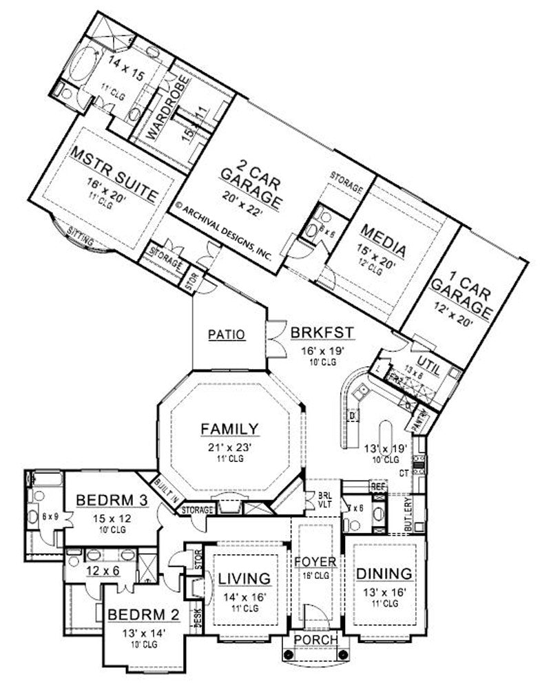 Black Rock floor plan