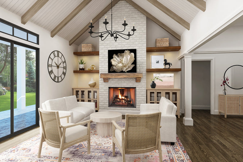 Blueberry Ranch House | Living