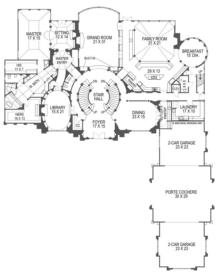 Breakers first floor, floor plan