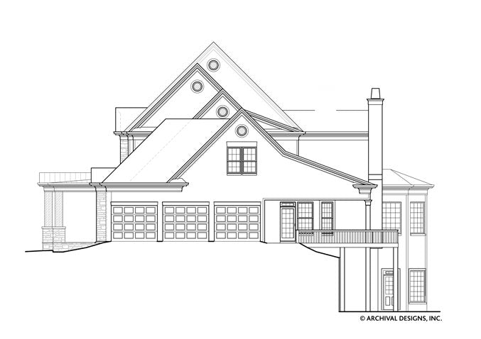 Broadstone Place House Plan