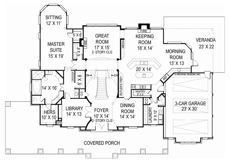 Broadstone Place first floor, floor plan