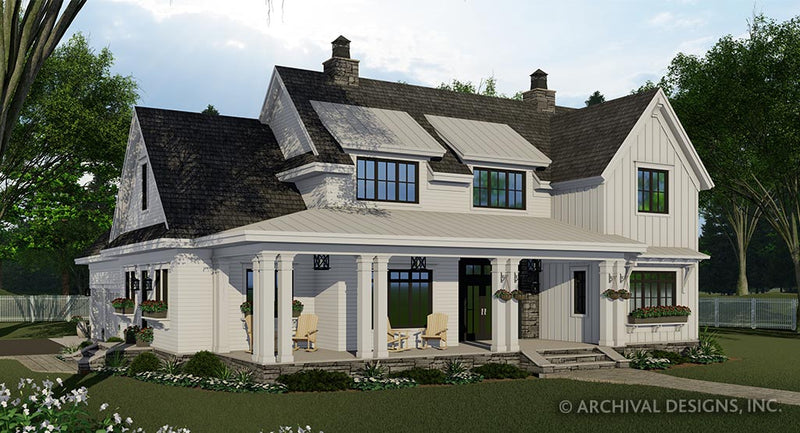 Brookside Farm House Plan