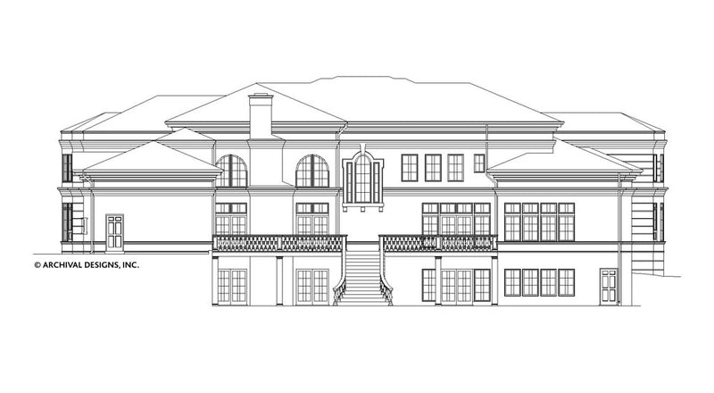 Buckingham House Plan