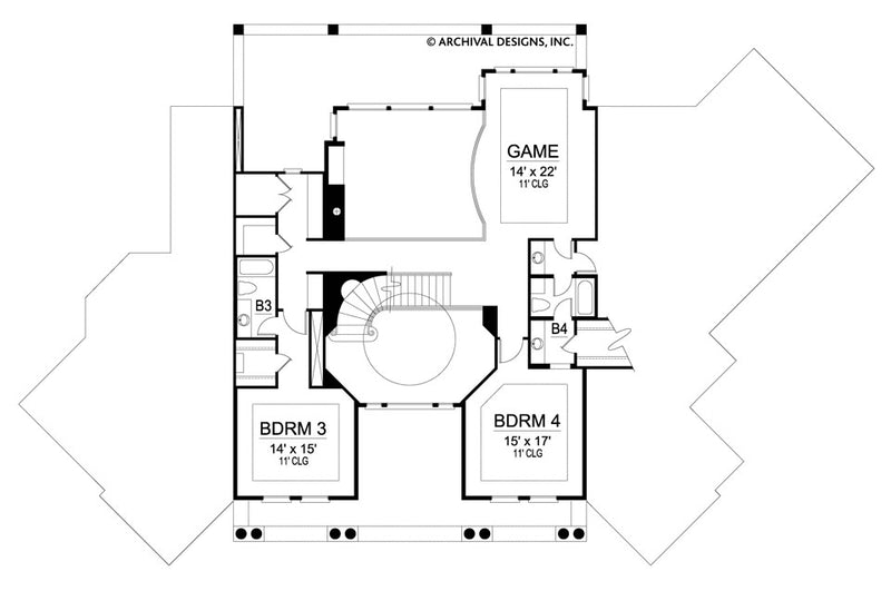 Budapest second floor plan