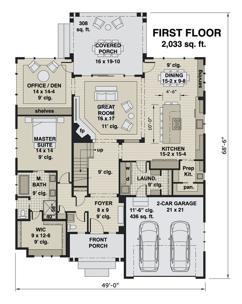 Bridgewater floor plan