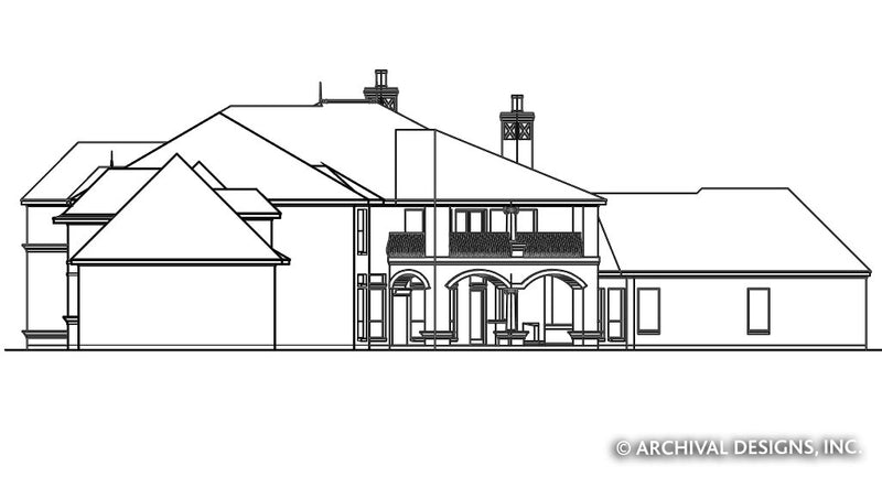Caledonia House Plan