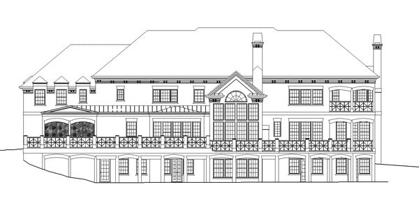 Carmichael Estate House Plan