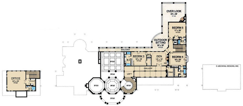 Cartagena second floor, floor plan