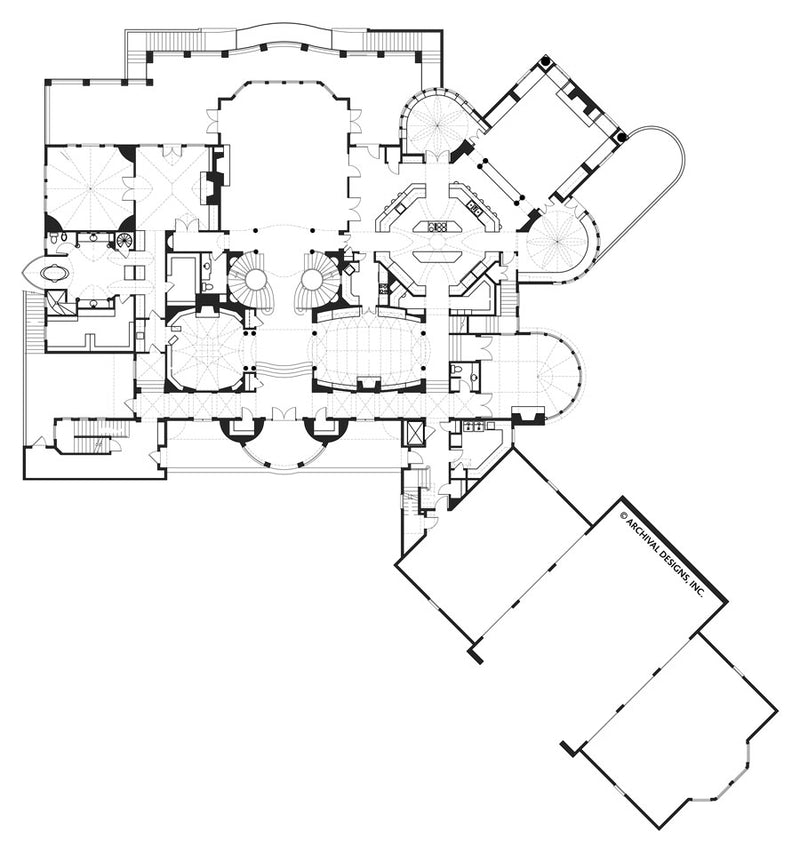 Castle of Ourem House Plan