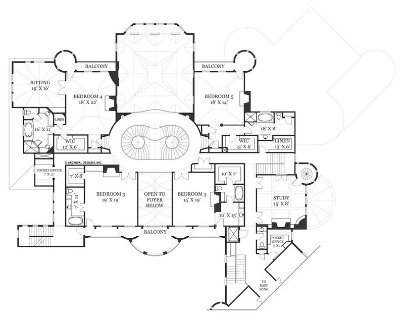 Castle of Ourem second floor, floor plan