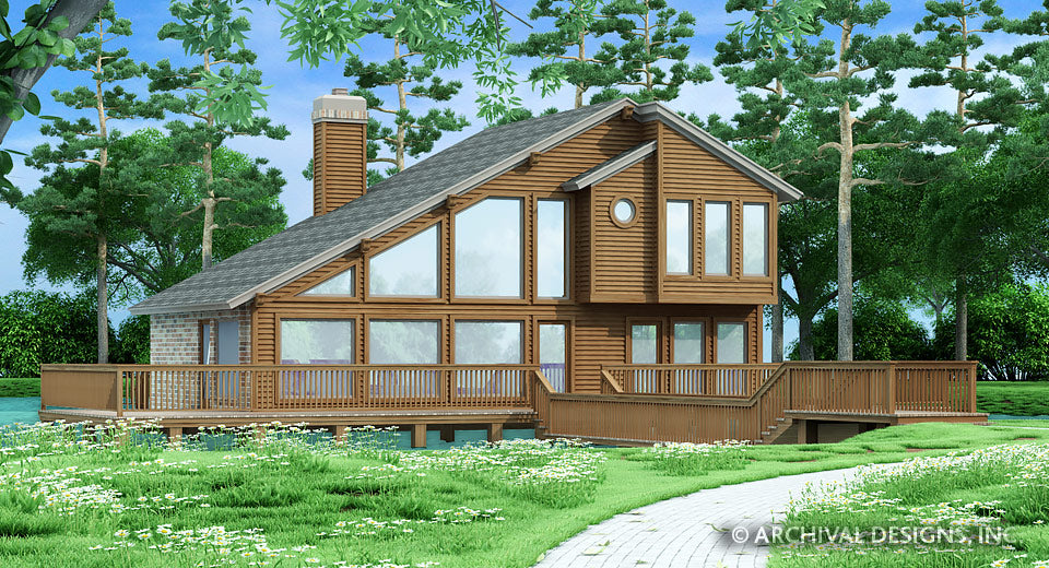 Cedar Lake House Plan