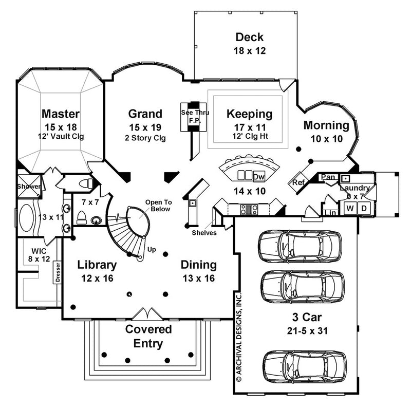 Centre Street first floor, floor plan