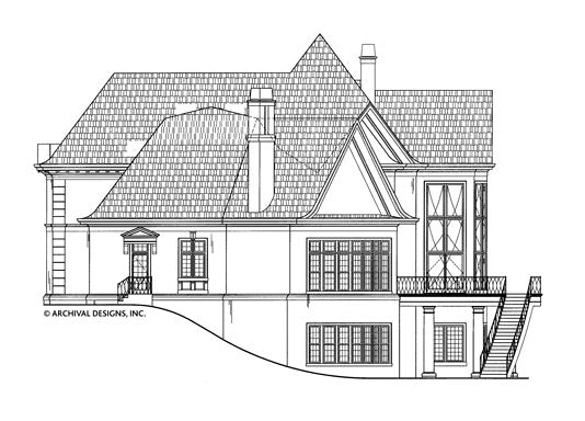 Champlatreaux House Plan