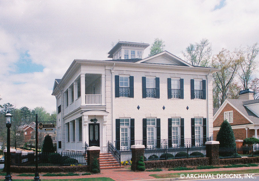 Charleston Traditional House Plans Luxury House Plans Archival Designs