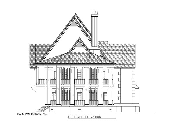 Chateau Melliant House Plan