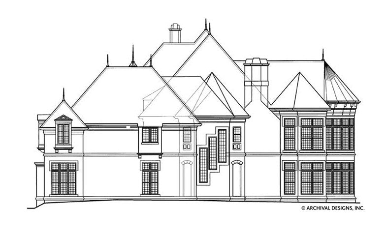 Chateaubriand House Plan