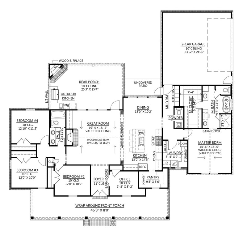 Cherry Grove House | First Floor Plan