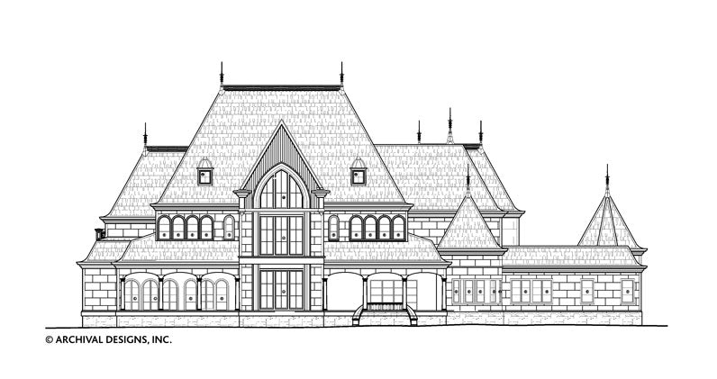 Cheverny House Plan