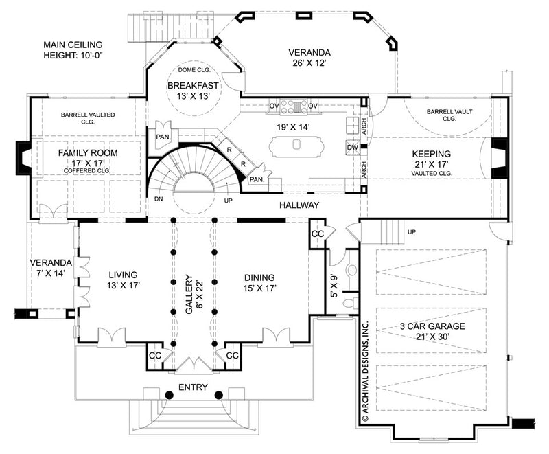 Chiswick first floor, floor plan