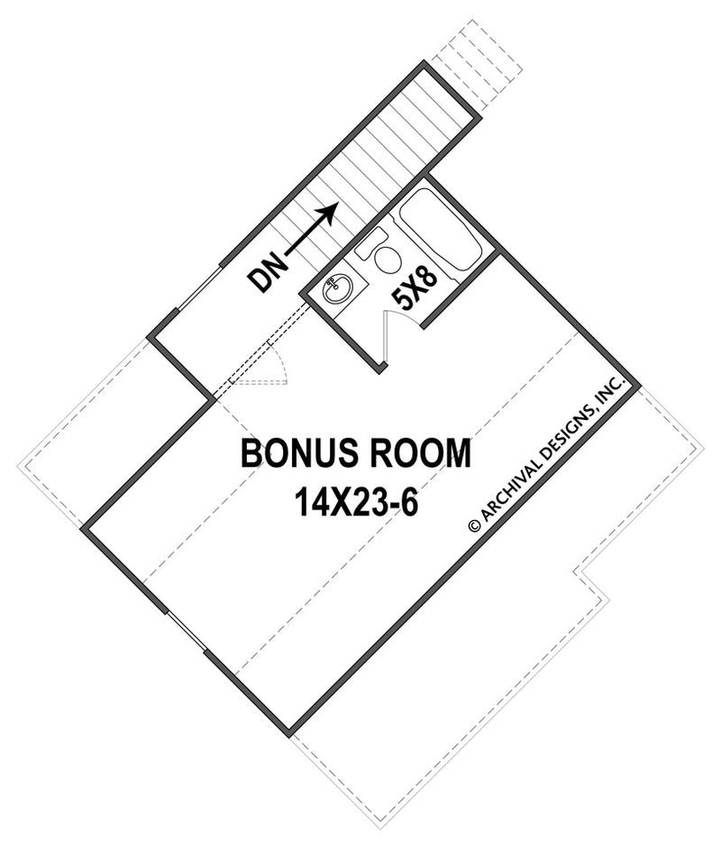 Clarita Place second floor, floor plan