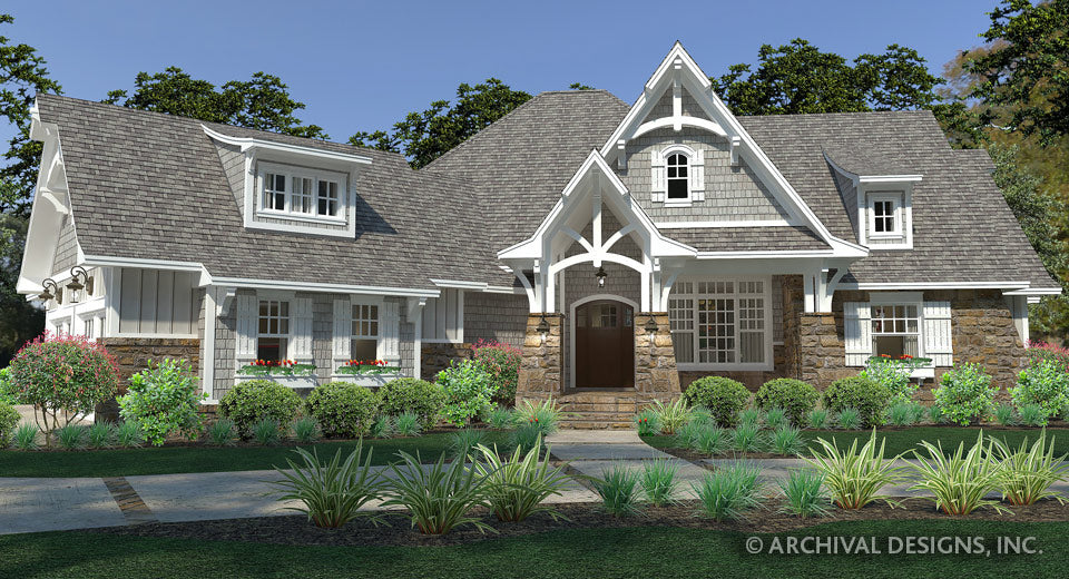 Clear Creek Cottage House Plan on