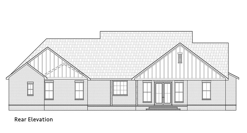 Cottageville House | Rear Elevation
