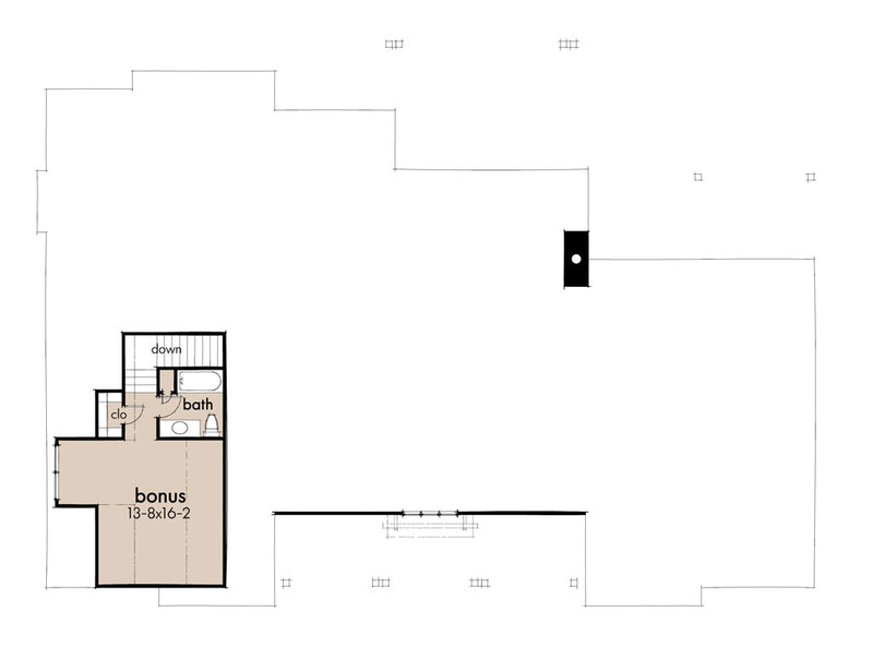 Creekview Court House | Second Floor Plan