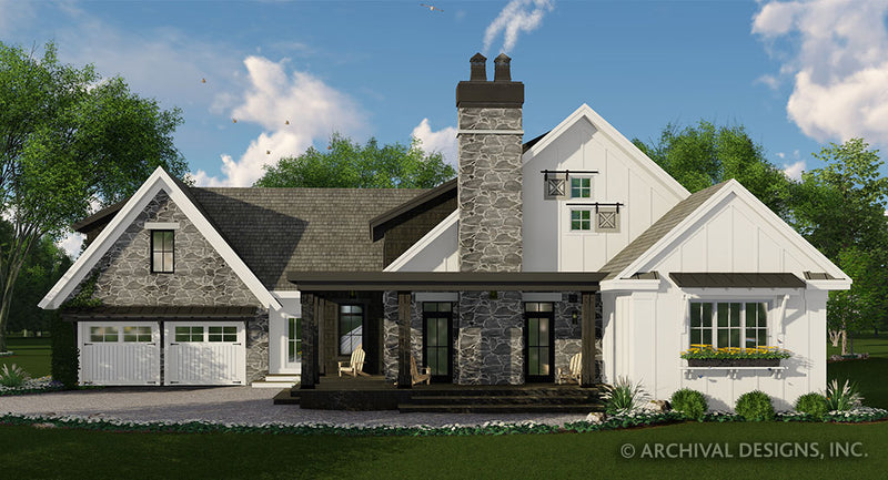 Deer Cove Farm House Plan