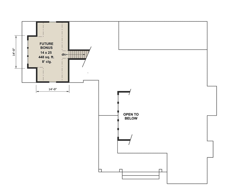 Deer Cove Farm, second floor plan
