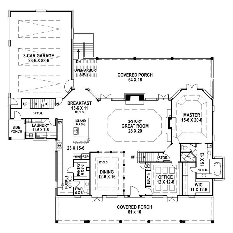 Deerfield First Floor Plan