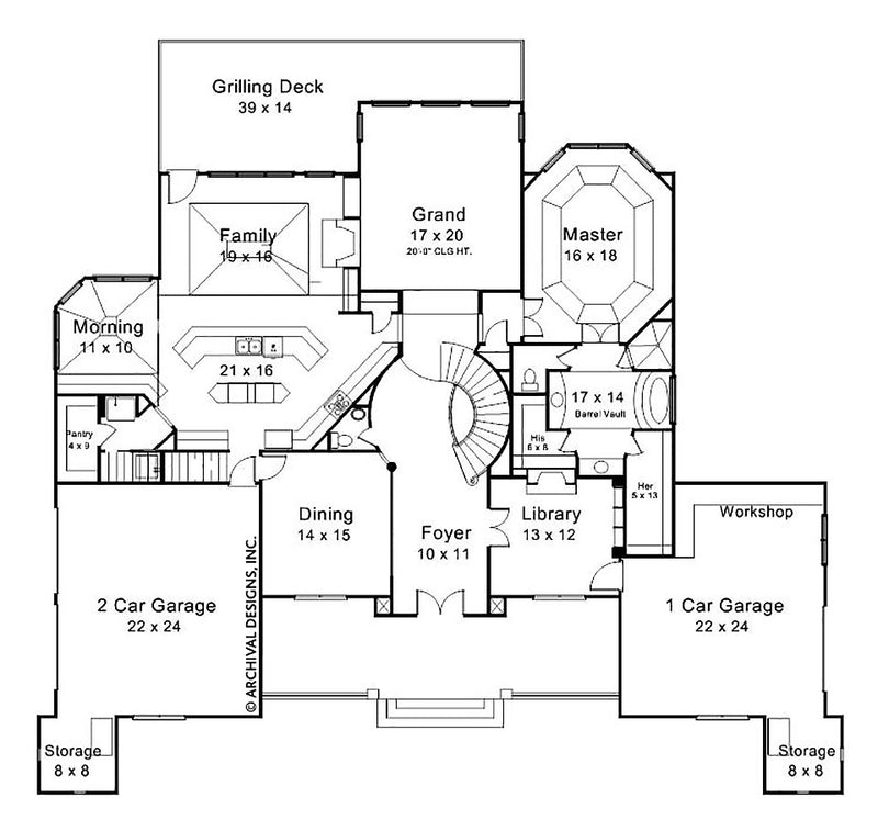 Devereaux Place first floor, floor plan