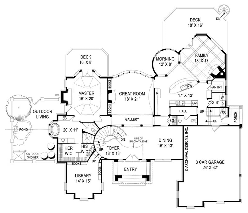 Di Medici Place first floor, floor plan