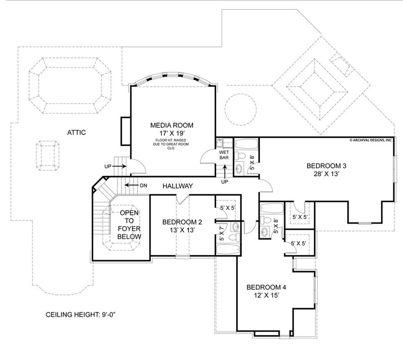 Drewnoport second floor, floor plan