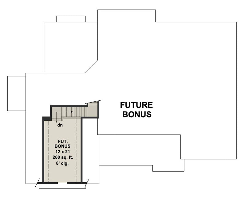 Emma Rose House | Bonus Floor Plan