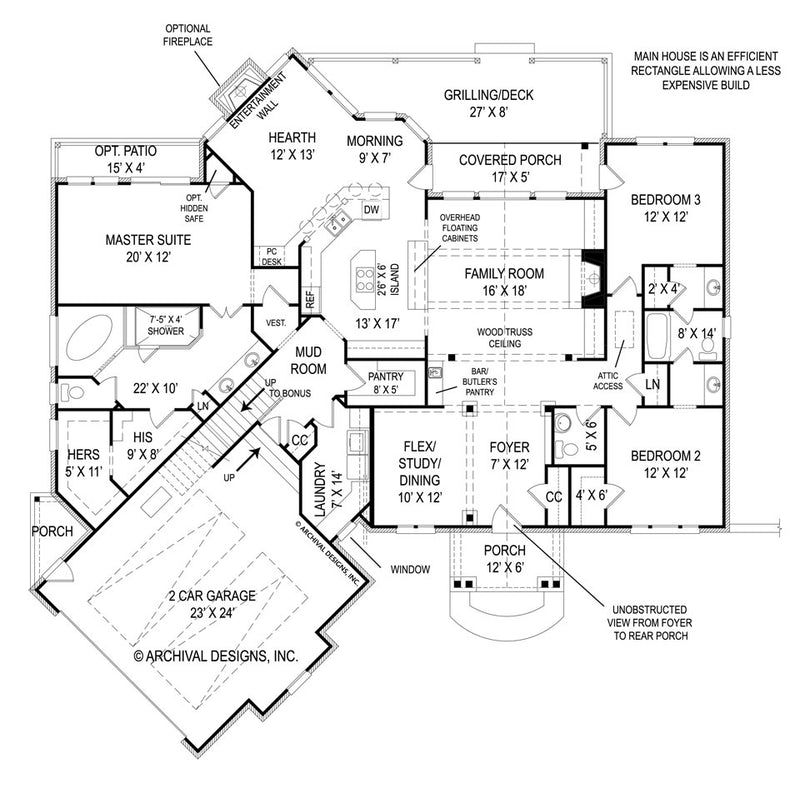 Fairlight first floor, floor plan