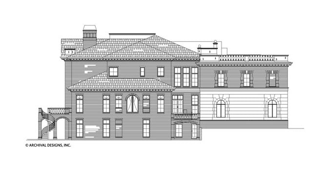 Fountainbleau House Plan