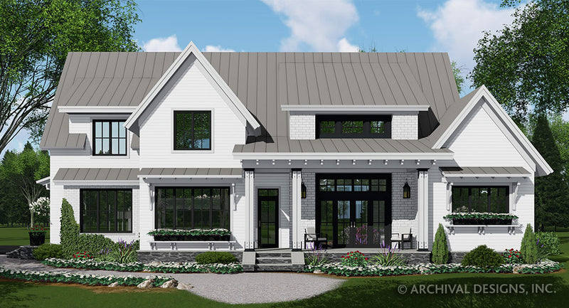 Foxtail Farm House Plan