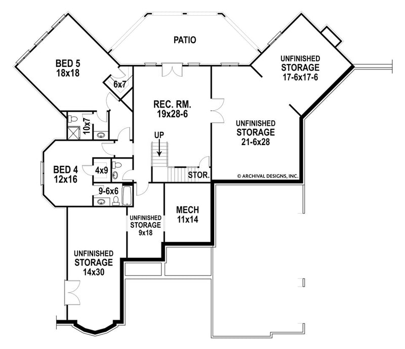 Glenwood basement floor plan