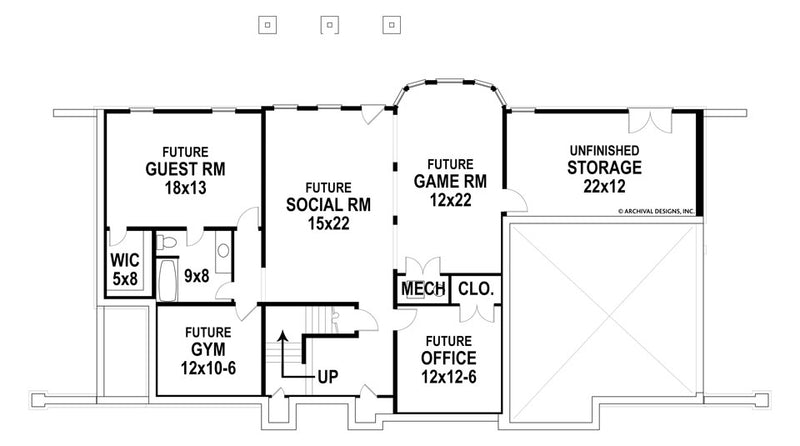 Gloucester basement floor plan