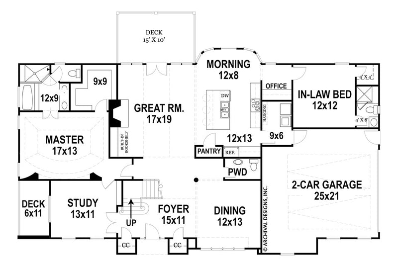 Gloucester first floor, floor plan