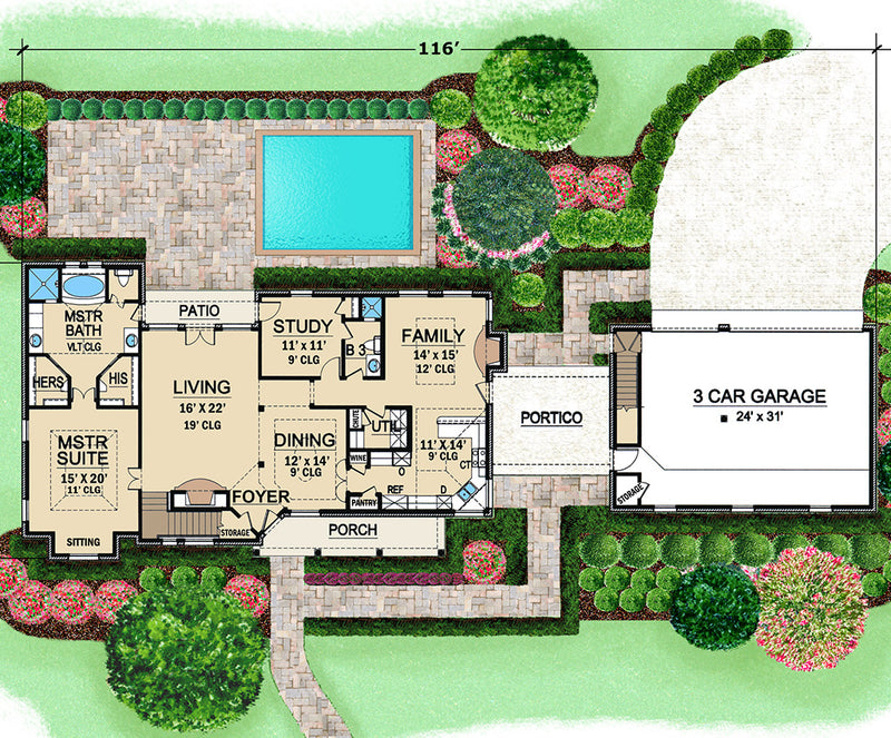Harbour Town first floor, floor plan